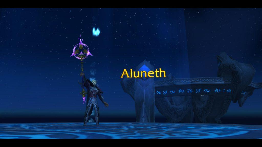 Aluneth - arma pentru magii cu specializarea arcane